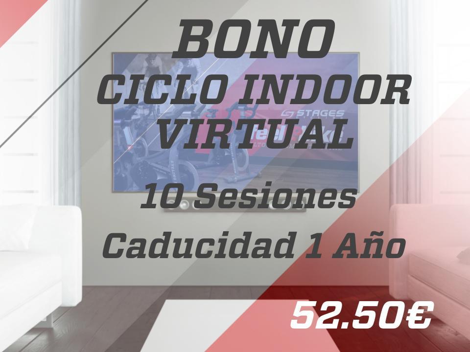 10 sesiones ciclo indoor virtual 1 año