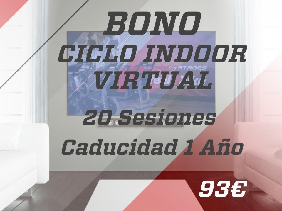 20 sesiones ciclo indoor virtual 1 año