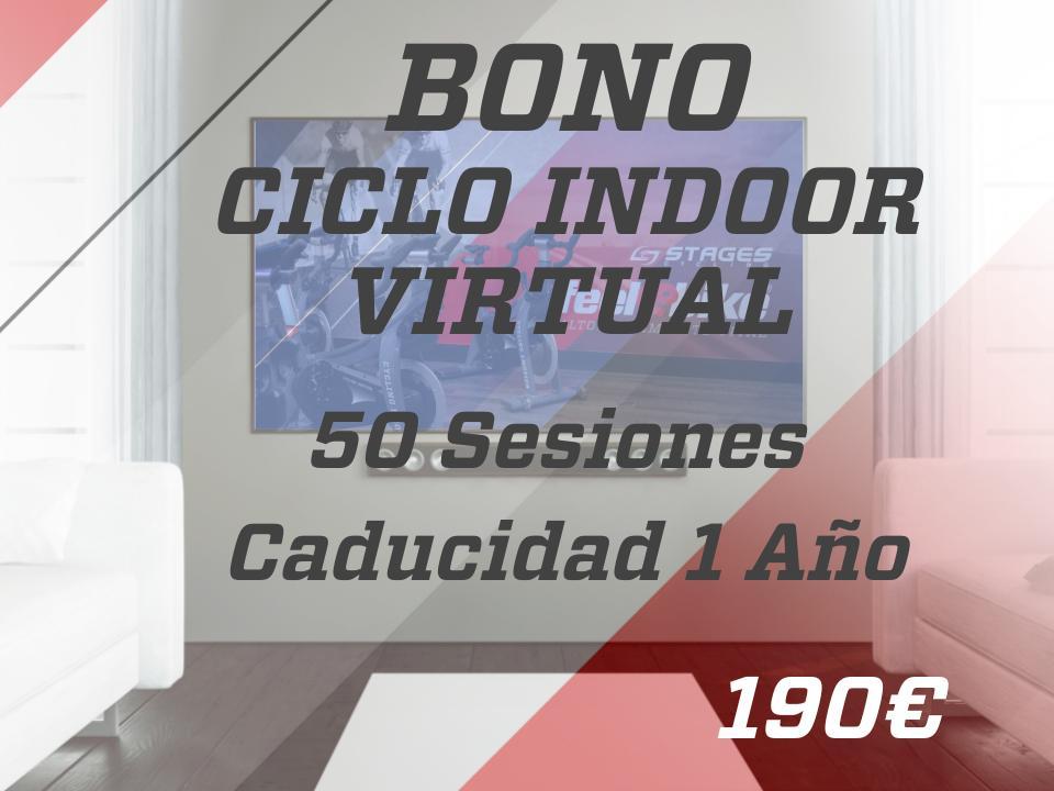 50 sesiones ciclo indoor virtual 1 año