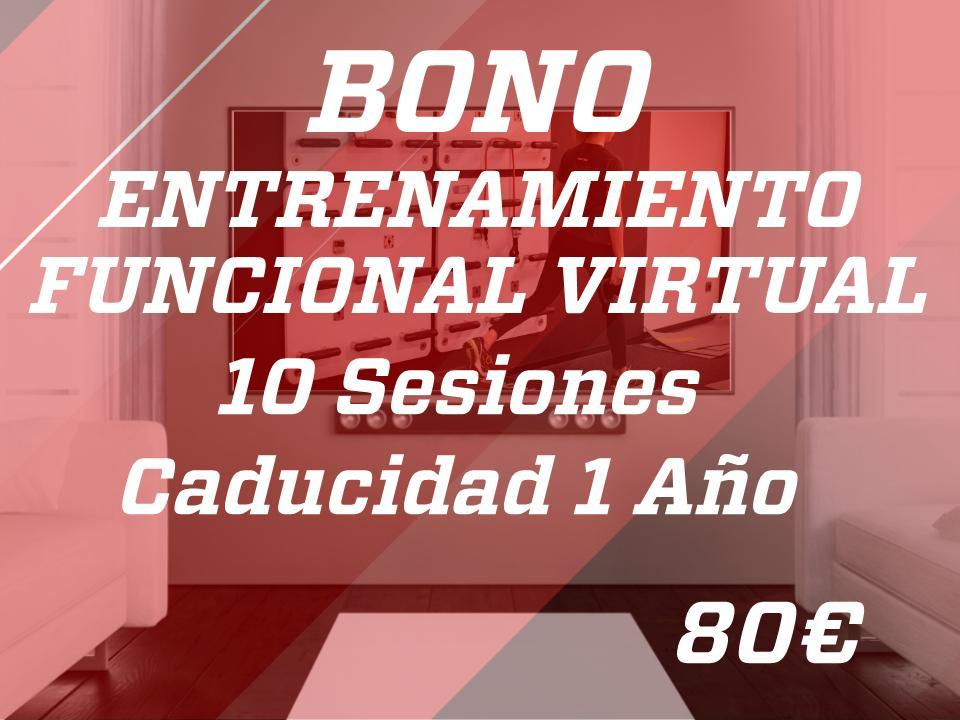 10 sesiones entr. func. virtual 1 año