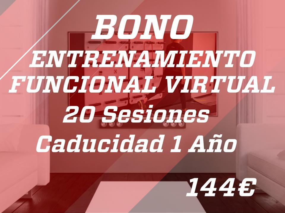 20 sesiones entr. func. virtual 1 año
