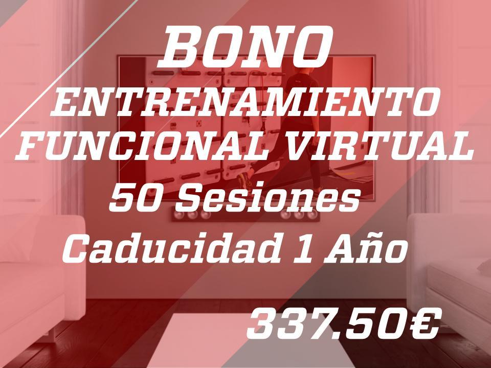 50 sesiones entr. func. virtual 1 año