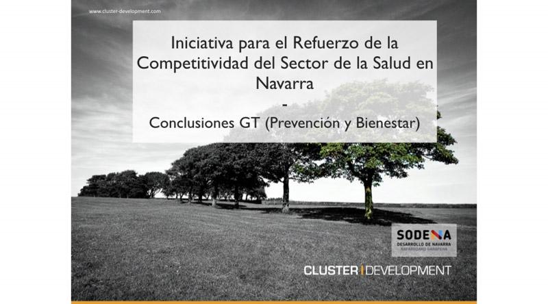 Se presenta la iniciativa par el refuerzo de la competitividad (IRC) del sector salud en Navarra